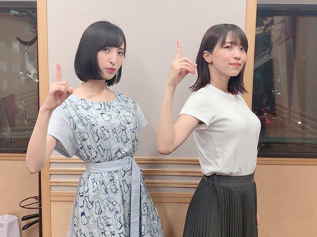 声優の佐倉綾音さんと大西沙織さんの乳比べwwwwwwwww