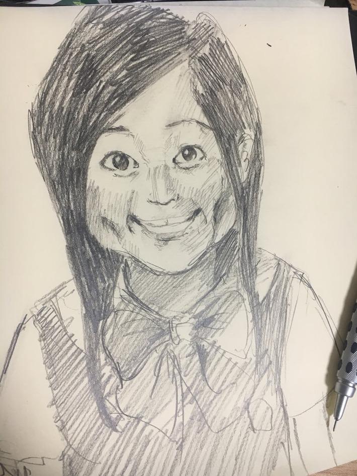 【画像】水瀬いのりさん、ファンに鉛筆画で描かれるwwwwwwww