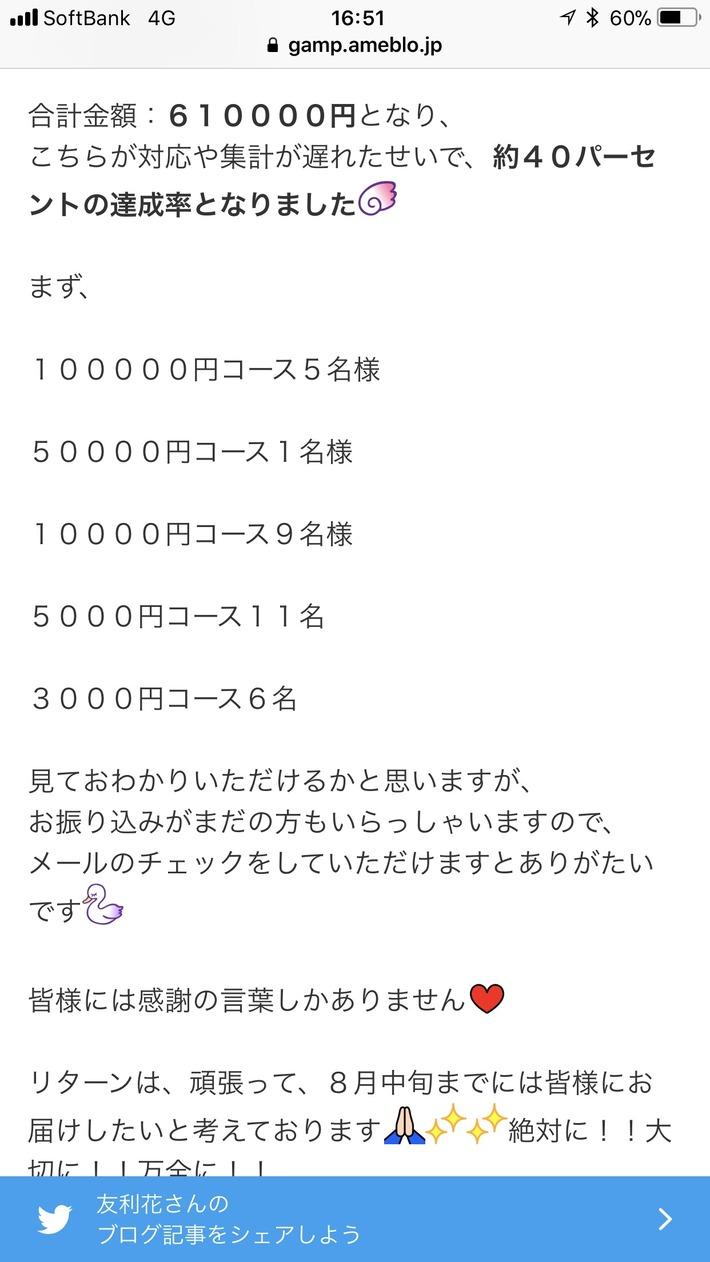 【朗報】大人気声優のゆりしー、クラウドファンディング 61万円達成!