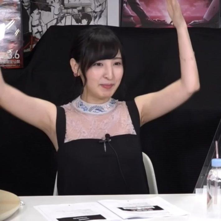 【画像あり】声優界一の美女・佐倉綾音さんの腋がエロすぎる最新写真wwwwwww