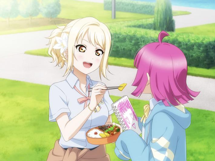 「ラブライブ!虹ヶ咲学園」の陰キャにも優しいギャルちゃんがかわいすぎると話題にwww