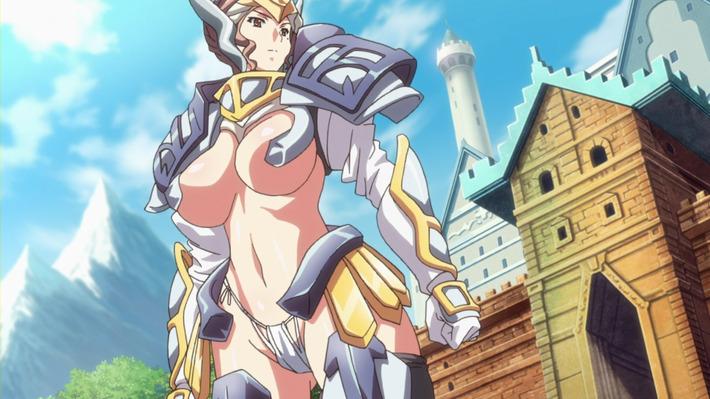 【悲報】アニメのヒロインさん、これから敵と戦うとは思えない装備で戦いに挑む