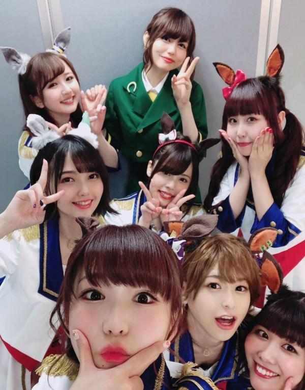 声優の徳井青空ちゃんのウマ娘コスが可愛すぎると声豚の間で話題に!!!