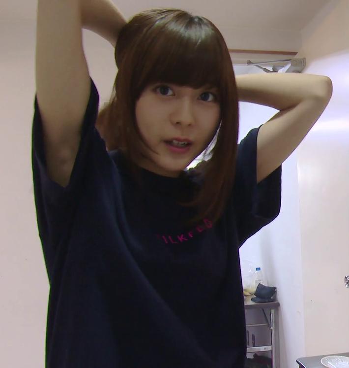 【神画像】声優・水瀬いのりさんの腋がエロすぎ問題wwwいのニー不可避www