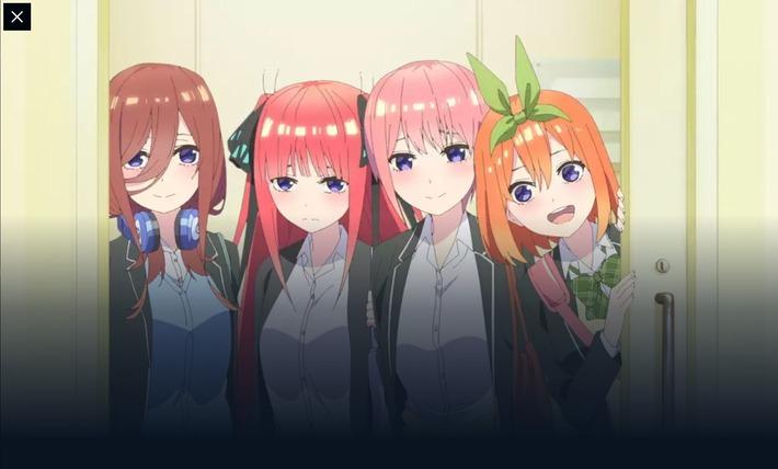 【悲報】 五等分の花嫁さん、アニメ2期でも作画崩壊が確定するwwwwww