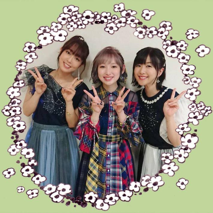 声優の南條愛乃さん(35)、日笠陽子さん(34)、茅野愛衣さん(31)の最新画像www
