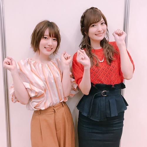 【画像】内田真礼さんと佳村はるかさんのツーショットたまらなすぎ