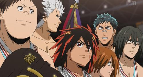 【火ノ丸相撲】23話感想 このアニメを通して相撲の凄さ、熱さが伝わりました