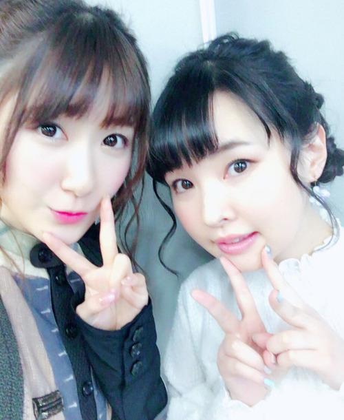 【画像】声優・日高里菜ちゃんと伊藤かな恵ちゃんのツーショットいいね
