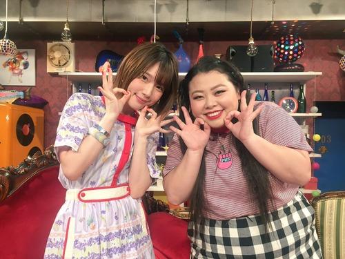 【画像】声優・内田真礼さんと芸人・渡辺直美さんの並びで分かる内田真礼さんの細さ
