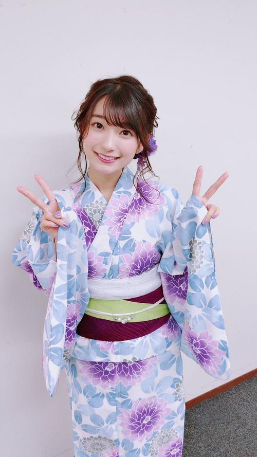 【画像】声優・高野麻里佳さんの浴衣姿って美しすぎるほどに美しいよな