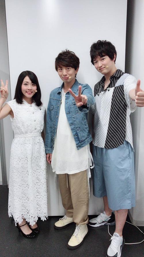 【画像】福圓美里さん、木村良平さん、逢坂良太さんのスリーショットいいものだな