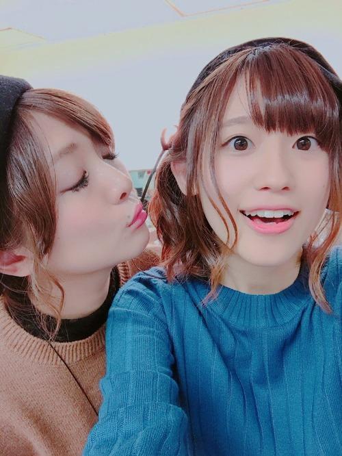 【画像】高橋李依にキスしようとしてる沼倉愛美さん