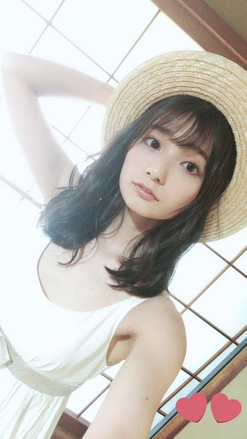【画像】高野麻里佳ちゃんと麦わら帽子って最高の組み合わせ
