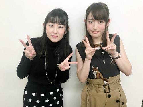 【画像】声優の小松未可子さんと高橋美佳子さんって何か似てね?
