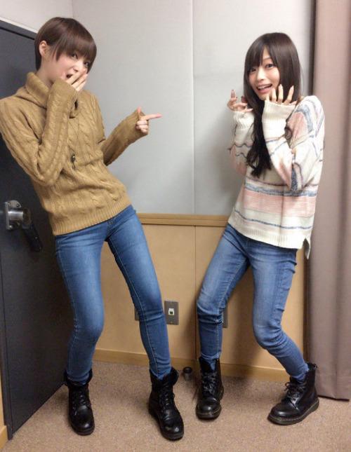 【画像】声優・井澤詩織さんと立花理香さんの脚っていいよね