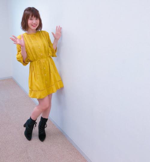 内田真礼さん、実は脚が長いことが判明!!!