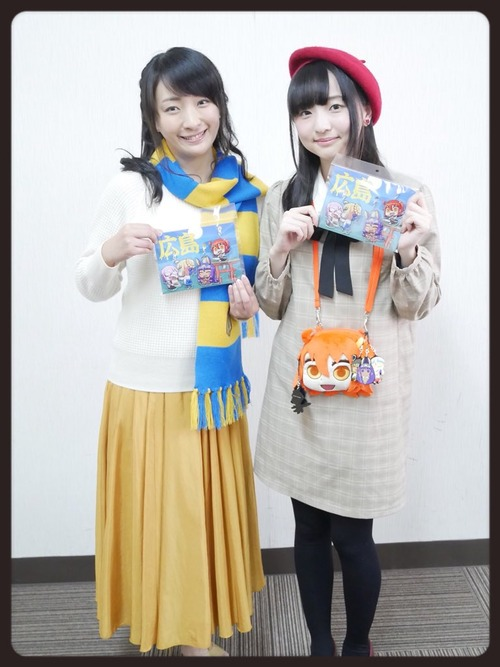 【画像】植田佳奈さんと田中美海さんってなんか親子みたい