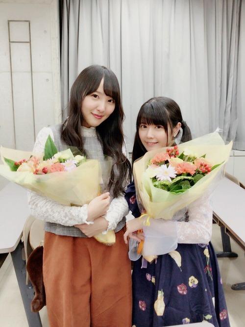 【画像】長久友紀さんと竹達彩奈ちゃんの身長差いいね・・・
