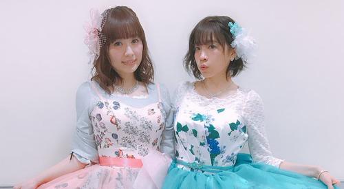 【画像】声優・照井春佳さんと諏訪彩花さんの着衣お胸www