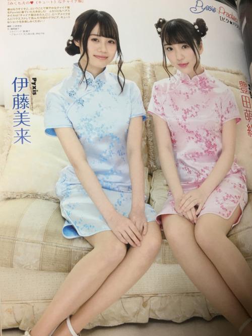 【画像】声優・豊田萌絵さんと伊藤美来さんのチャイナ姿たまらんな