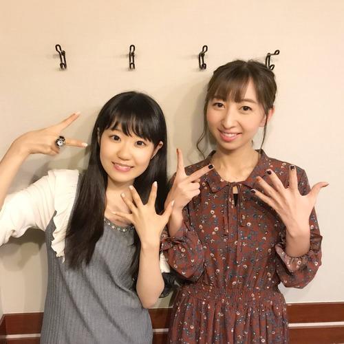 【画像】東山奈央さんと飯田里穂さんのツーショットもいいものですね