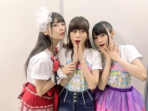 【画像】声優・水瀬いのりさん、上坂すみれさん、小倉唯さんのスリーショット最高&最高