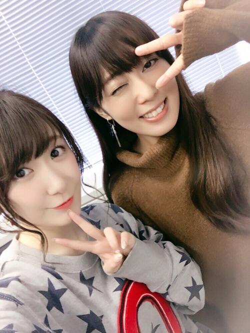 【画像】声優・日高里菜ちゃんと日笠陽子さんのツーショットも良きものですな
