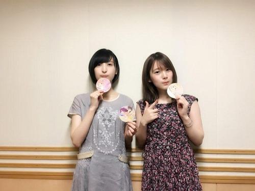 【画像】声優・佐倉綾音さんと内田真礼さんのツーショトを見ると元気になるな