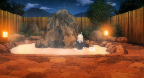 【ナカノヒトゲノム【実況中】】8話感想 スーツのまま風呂の中に入るのはちょっと・・・