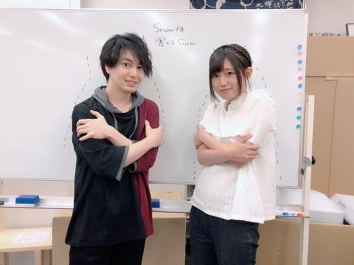 【画像】声優・小林裕介さんと高橋李依さんのツーショットはやっぱりいいね