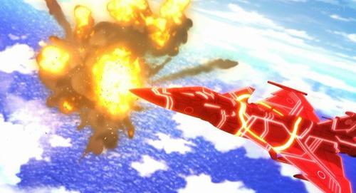 【ガーリー・エアフォース】1話感想 正体不明の飛翔体「ザイ」と戦う