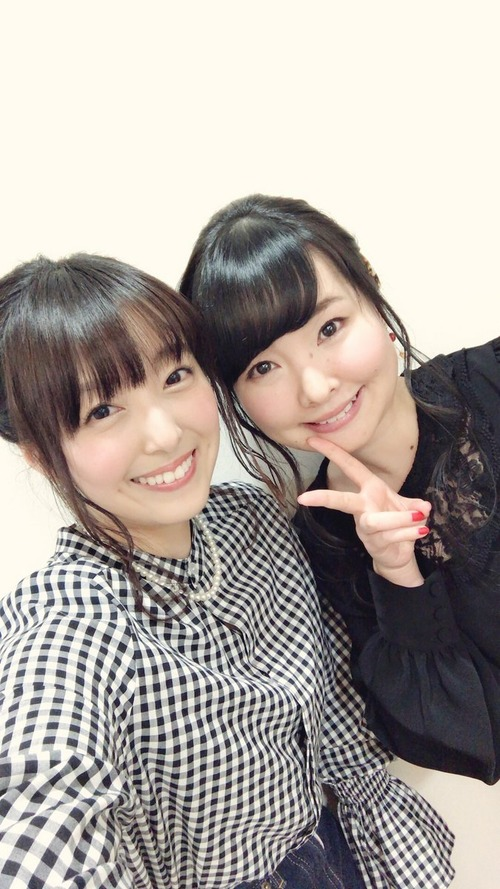 【画像】声優・加藤英美里さんと伊藤かな恵さんのツーショットが良すぎる