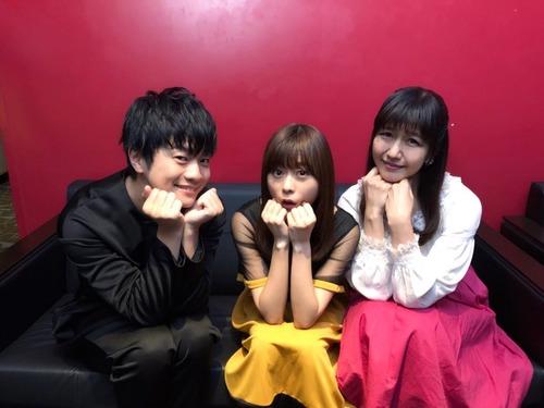 【画像】声優・水瀬いのりさん、福山潤さん、井上喜久子さんのスリーショット素晴らしいな