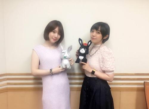 【画像】声優・内田真礼さんと佐藤聡美さんのツーショット美しいな