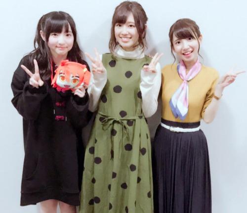 【画像】高橋李依・田中美海・大久保瑠美の3ショート素晴らしいな