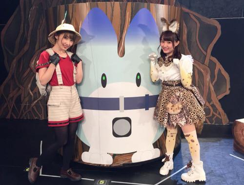 【けものフレンズ】かばんちゃん衣装の内田彩さん可愛すぎだろ