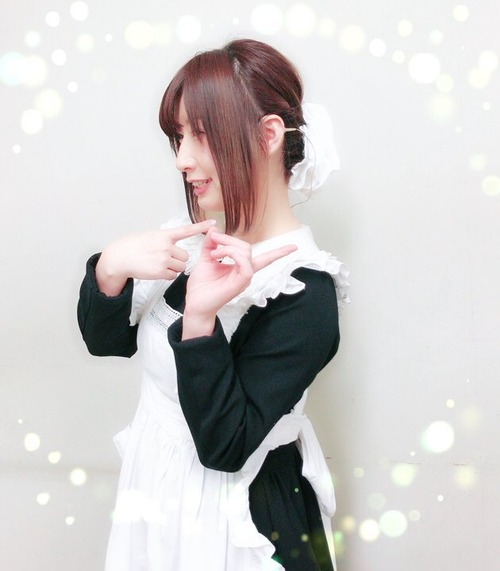 【画像】声優・高森奈津美さんのメイド姿いいですね