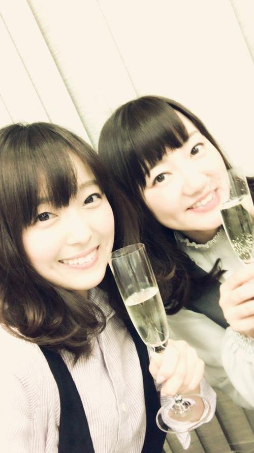 【画像】声優・加藤英美里さんと阿澄佳奈さんのツーショット可愛すぎ