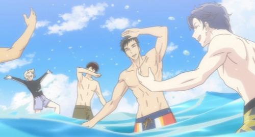 【サンリオ男子】9話感想 男5人だけのプライベートビーチ