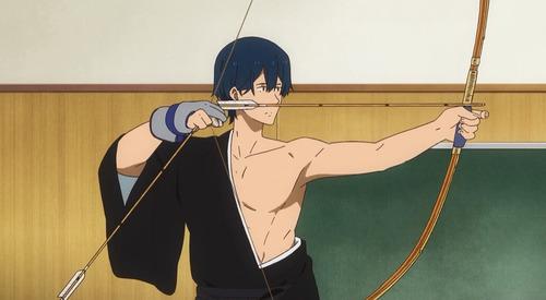 【ツルネ -風舞高校弓道部-】4話感想 やっと試合形式で弓を引くシーンが出てきた