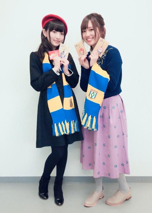 【画像】田中美海さんと高橋李依さんのツーショットええな