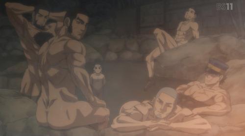 【ゴールデンカムイ第2期】9話(21話)感想 筋肉だらけのお風呂