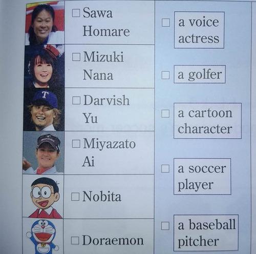 【画像】声優の水樹奈々さん、英語の教科書に乗る!!!