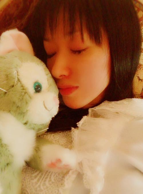 【画像】声優・田中理恵さんの寝顔が可愛すぎてヤバイ
