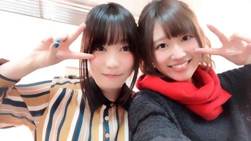 【画像】声優・本渡楓さんと高橋李依さんのツーショットもいいもんだな