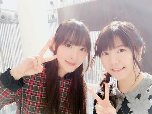 【画像】声優・竹達彩奈さんと長久友紀さんのツーショットいいね