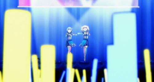 【バトルガール ハイスクール】4話感想 アニメのアイドルはよく足を挫くな