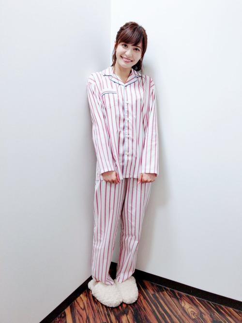 【画像】声優・中島愛さんのパジャマ姿めっちゃかわいいな