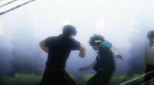 【僕のヒーローアカデミア(第3期)】8話(46話)感想 デクを殴る飯田くんの姿に驚き